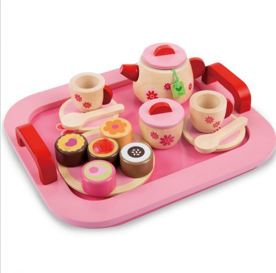 Wooden Tea Set Role Play & Pretend Play